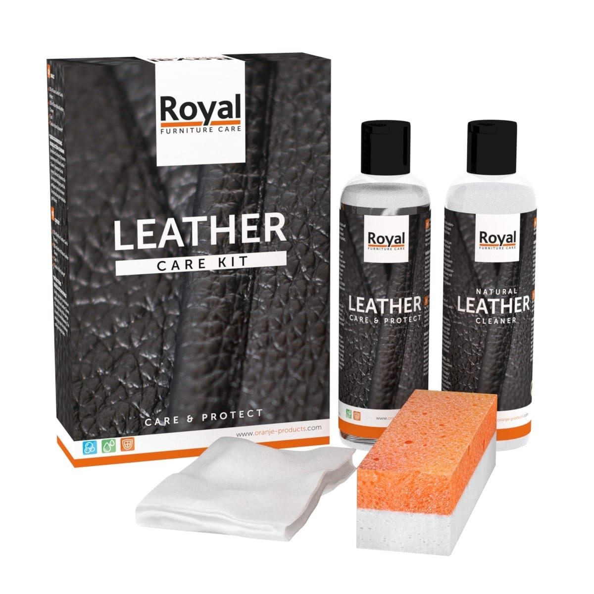 Leather Care Kit- Care & Protect 2x250ml