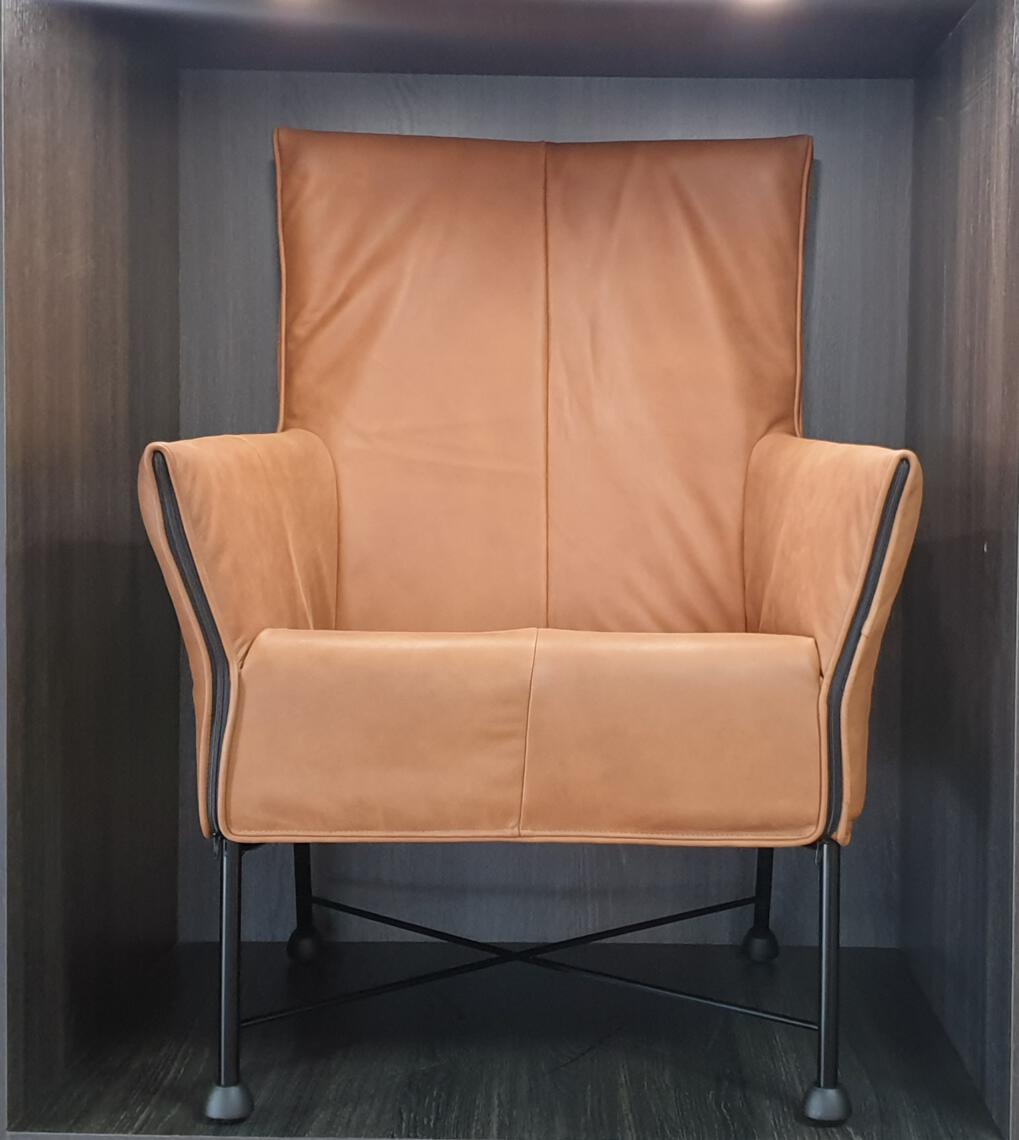 Montis Charly fauteuil rough leer  - Refurbished