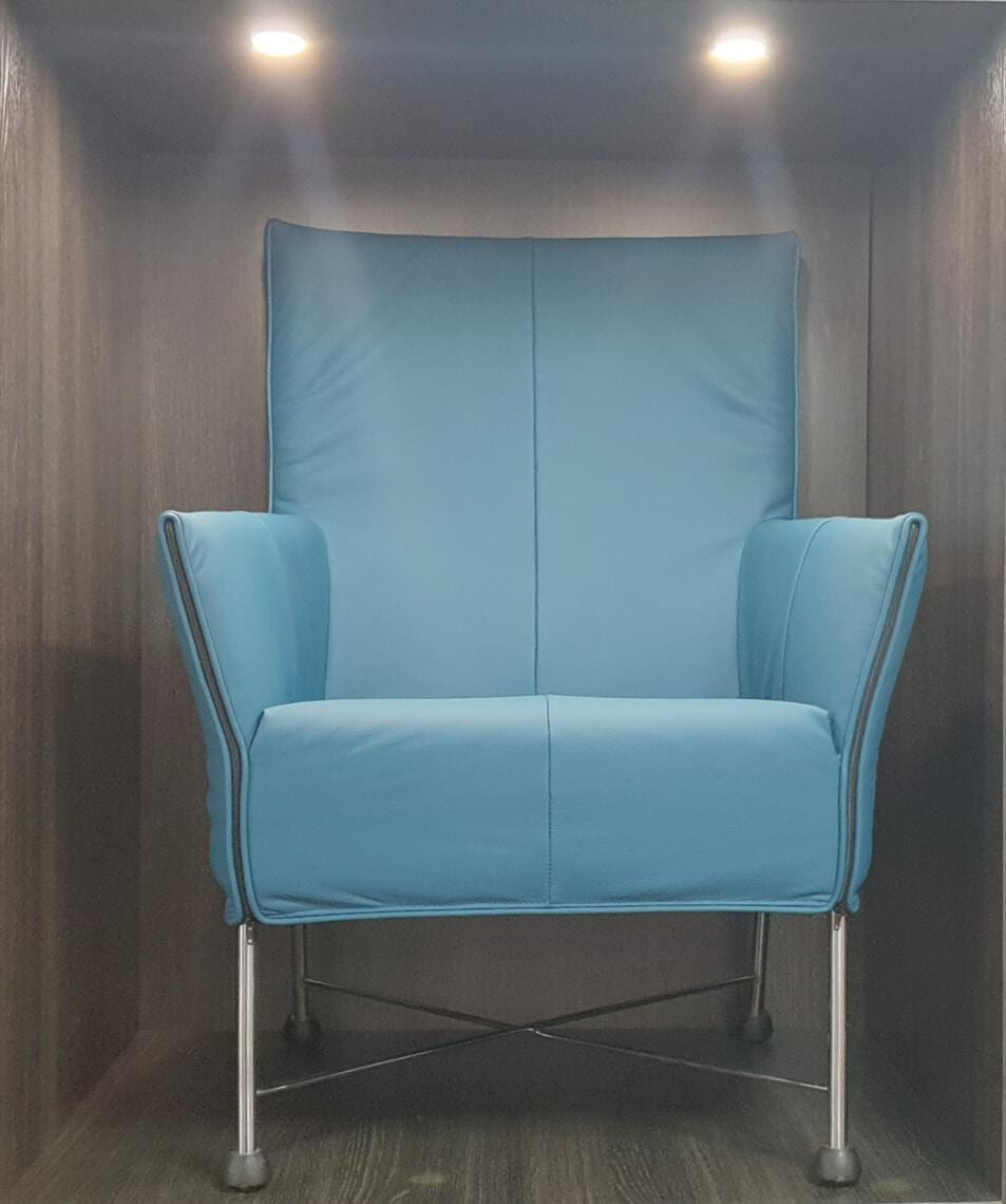 Montis Charly fauteuil turquoise  - Refurbished