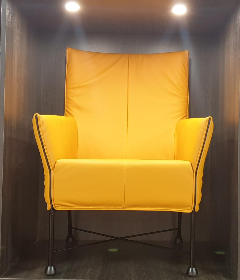Montis Charly fauteuil geel  - Refurbished