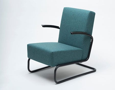 Gispen 405 LA fauteuil BLACK EDITION