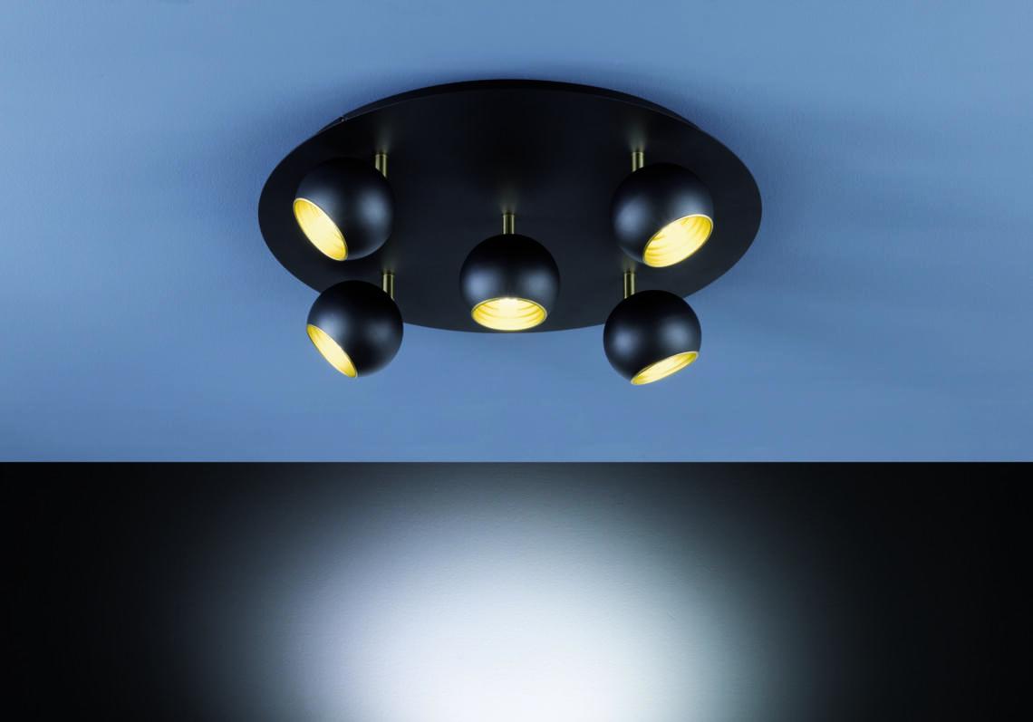 Trio Plafondlamp Dakota 604600532