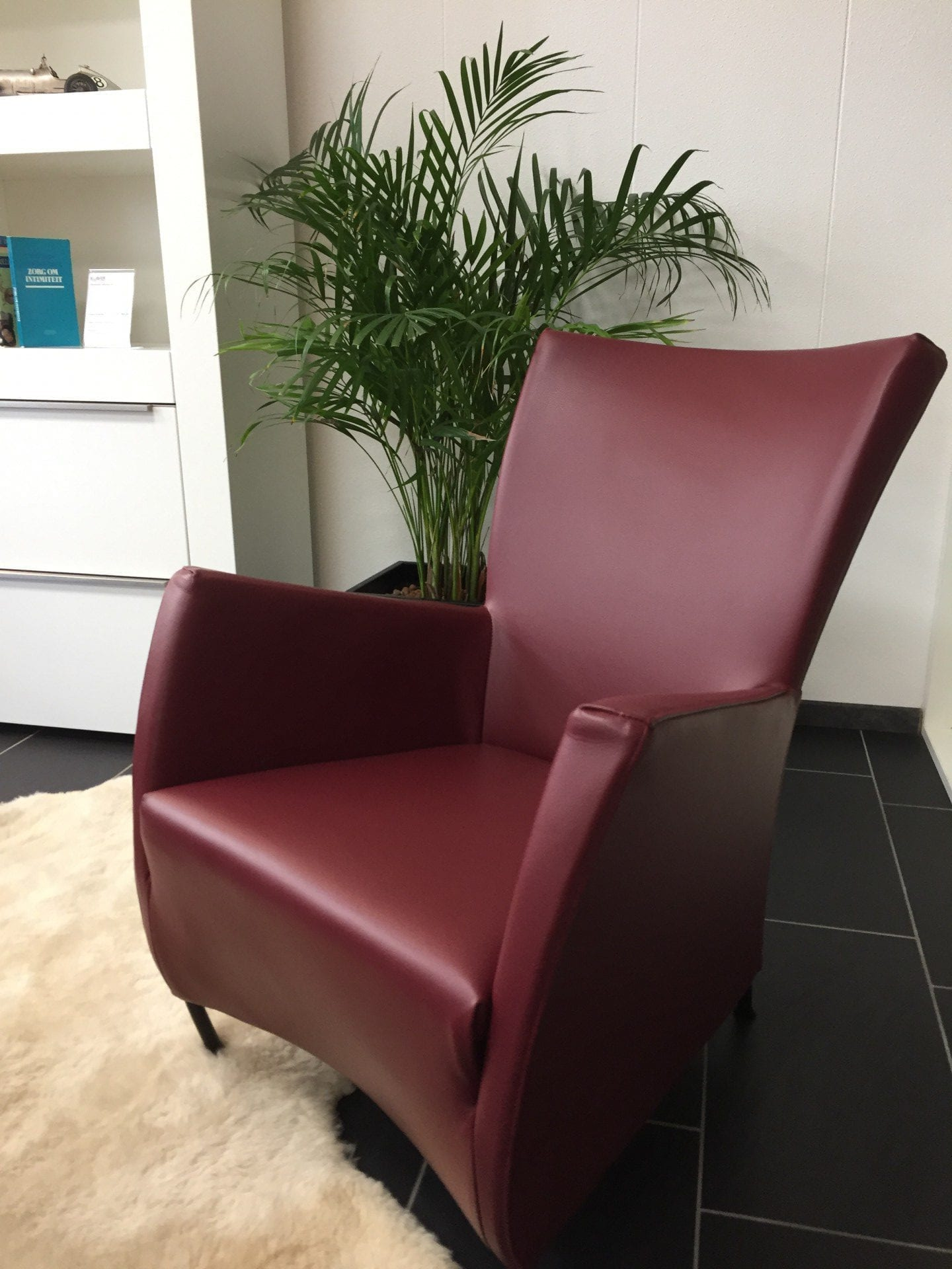 Montis Windy fauteuil donkerrood  - Refurbished