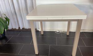 Eettafel Lisanty uitschijfbare tafel