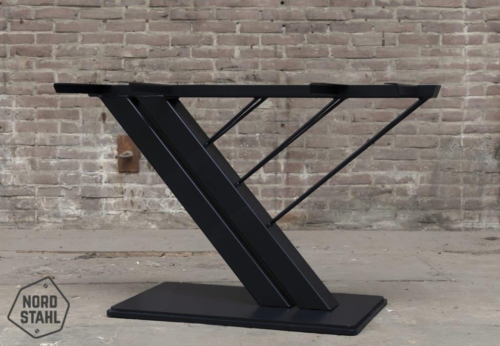 Stalen Harp tafelpoot