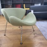 Artifort Orange Slice fauteuil laag groen SHOWMODEL