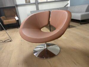 Artifort Apollo fauteuil bruin SHOWMODEL