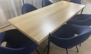 Artifort Palladio eettafel eiken naturel SHOWMODEL