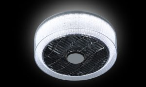 Plafondventilator The Fan no. 5 kristal rand