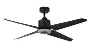 Plafondventilator The Fan no. 1 4 blads zwart