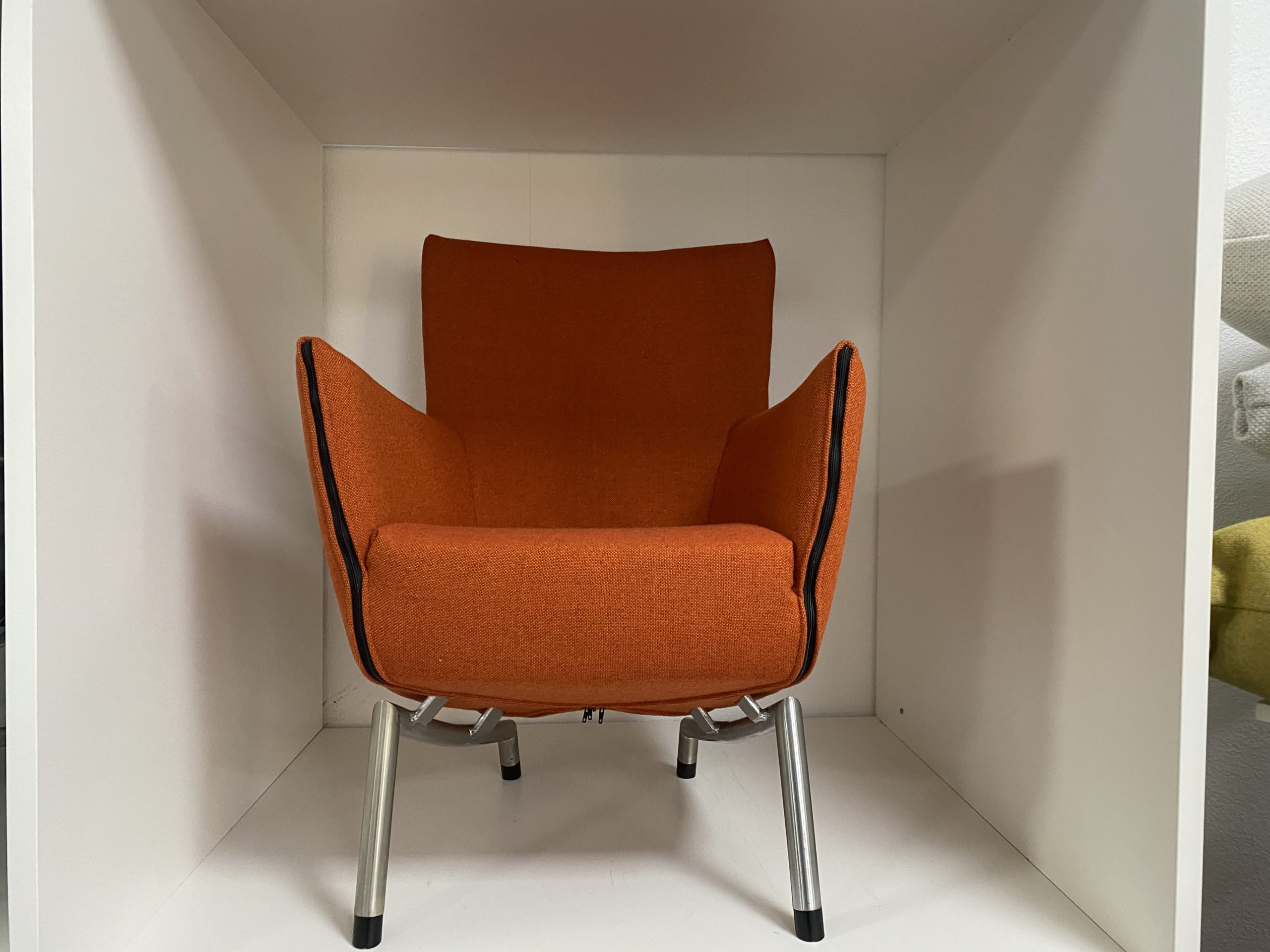 Label Foxxy fauteuil oranje  - Refurbished