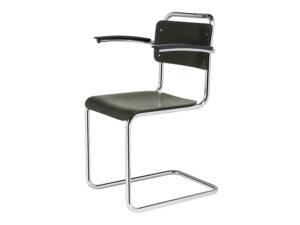Gispen 201 XL hout stoel