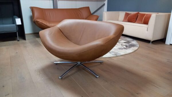 Label Gigi fauteuil bruin REFURBISHED