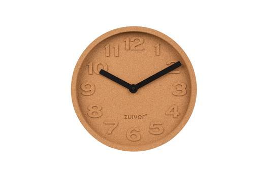 Zuiver Cork Time wand klok